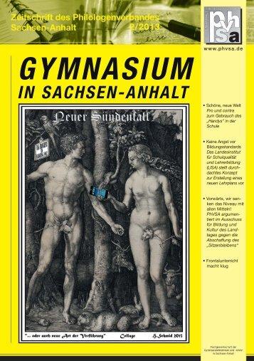Aktuelle Ausgabe - Philologenverbands Sachsen-Anhalt