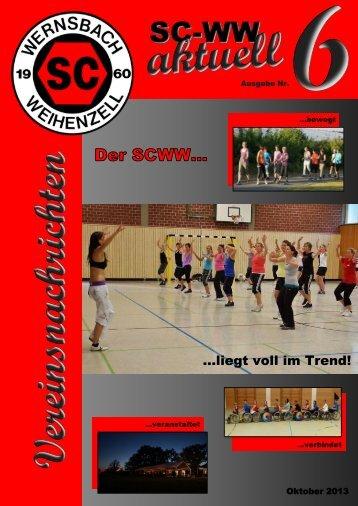 Vereinszeitung Nr.6 - SC Wernsbach Weihenzell