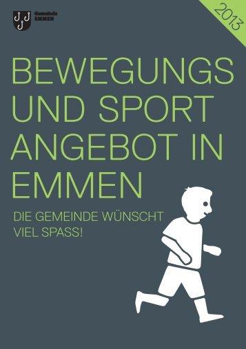 Bewegungs- und Sportangebot in Emmen - Gemeinde Emmen