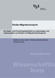 Kinder-Migrationsreport - Deutsches Jugendinstitut e.V.