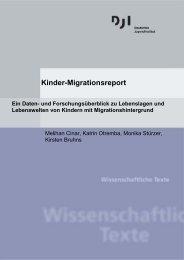 Kinder-Migrationsreport - Deutsches Jugendinstitut e.V.