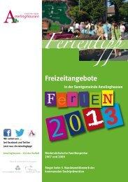 Ferientipp für die Sommerferien 2013 - Amelinghausen