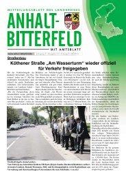 Ausgabe 11 vom 31. Mai 2013 - Landkreis Anhalt-Bitterfeld
