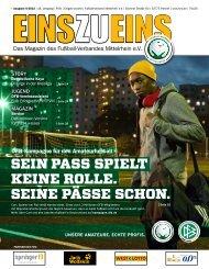 EINSZUEINS 06/2013 - Fußball-Verband Mittelrhein e.V.