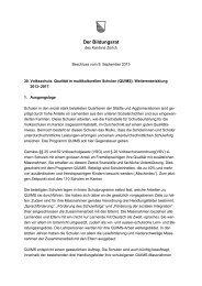 (QUIMS). Weiterentwicklung 2013–2017 (PDF ... - Bildungsdirektion