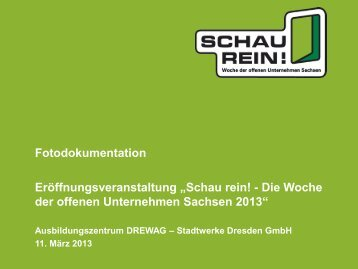 Fotodokumentation 2013 - Bildungsmarkt-Sachsen.de