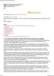 Newsletter ErzieherIn.de August 2013