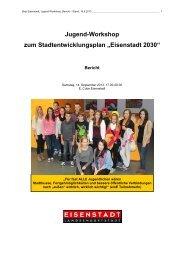 Bericht Jugendbeteiligung - Eisenstadt