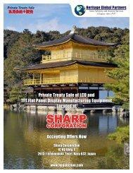 SHARP SHARP - Liquidation Auction - Equipment Auctions  HGP ...