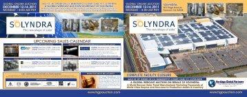 upcoming sales calendar - Liquidation Auction - Equipment Auctions ...