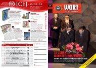 Ausgabe Nr. 01/2012 - ICEJ - International Christian Embassy ...