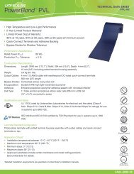Technical Data Sheet 4