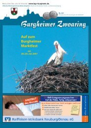 201 - Handels- und Gewerbevereinigung Burgheim