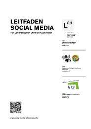 Leitfaden Social Media für Lehrpersonen und Schulleitungen - LCH