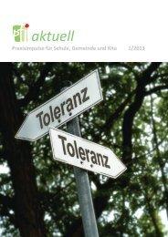pti aktuell Juni 2013 - Pädagogisch-Theologisches Institut