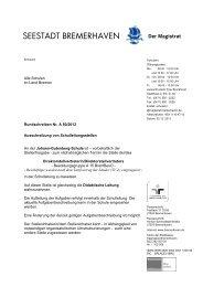 (A 15) an der Johann-Gutenberg-Schule - Bremen