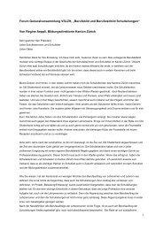 Berufsbild und Berufsleitbild Schulleitungen - Bildungsdirektion
