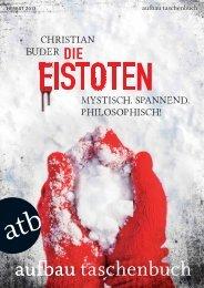 Mystisch. spannend. philosophisch! christian buder - Aufbau Verlag