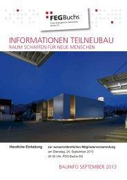 Broschüre - Freie Evangelische Gemeinde Buchs SG