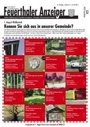 PDF-Datei - Feuerthaler Anzeiger