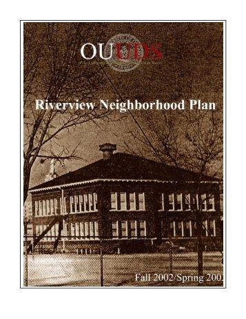 Riverview Master Plan - Tulsa Riverview Neighborhood