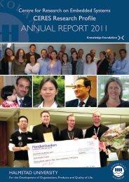 ANNUAL REPORT 2011 - Högskolan i Halmstad