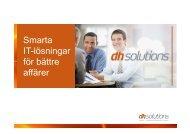 Smarta IT-lösningar för bättre affärer