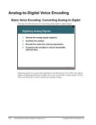 Analog-to-Digital Voice Encoding