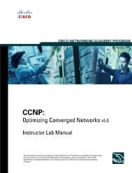 LAB manual CCNP4