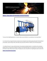 Akkaya | Steam Boilers & Technology Technical Properties