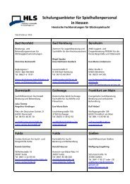 Schulungsanbieter für Spielhallenpersonal in Hessen