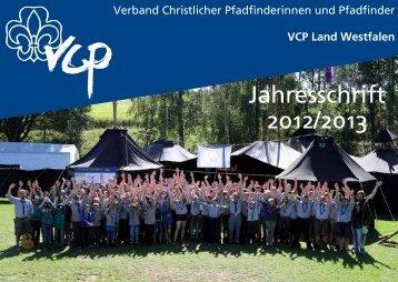 Jahresschrift 2012/2013 - VCP Land Westfalen