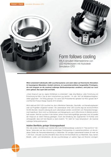 Form follows cooling