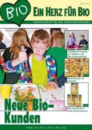 Fachzeitschrift für den Lebensmittelhandel - Ein Herz für Bio