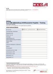 Antrag NPI Training - Go International