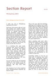 Section Report - Goetheanum