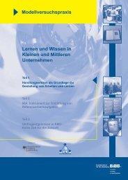 Lernen und Wissen in Kleinen und Mittleren Unternehmen ...