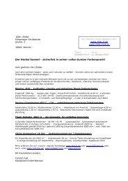 Der Herbst kommt - Handelshof Landtechnik GmbH