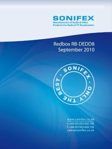 September 2010 Redbox RB-DEDD8 - HHb