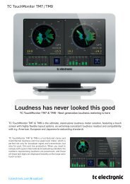 Loudness has never looked this good - HHb
