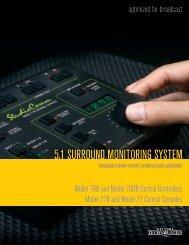 5.1 SURROUND MONITORING SYSTEM - HHb