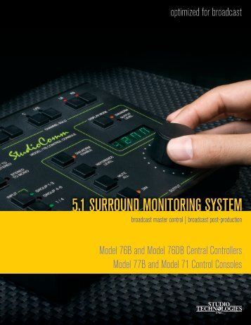 5.1 SURROUND MONITORING SYSTEM - HHb