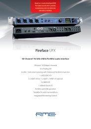 Fireface UFX - HHb