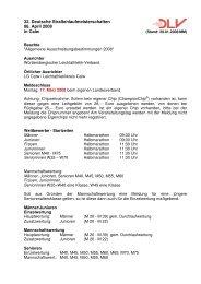 32. Deutsche Straßenlaufmeisterschaften 06. April 2008 in Calw