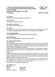 Ausschreibung - Hamburger Leichtathletik-Verband