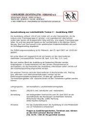 2007Ausbildung Trainer C - Hamburger Leichtathletik-Verband