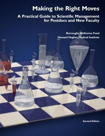 Making the Right Moves (PDF) - Howard Hughes Medical Institute