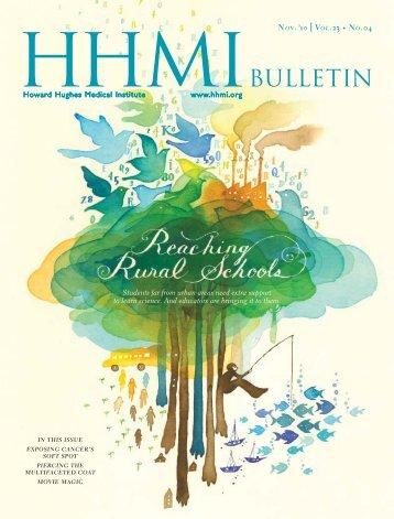 HHMI Bulletin November 2010 Vol. 23 No. 4 - Full Text - Howard ...