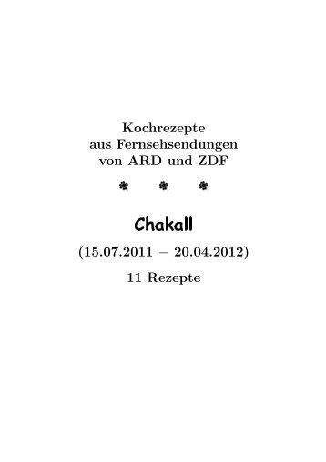 Chakall - Hhollatz.de