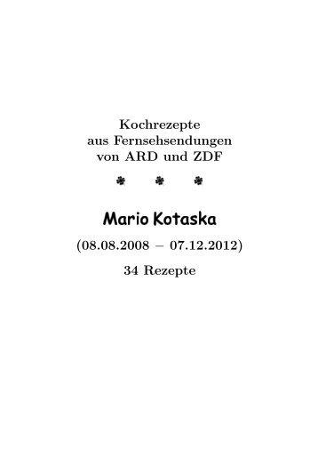 Mario Kotaska - Hhollatz.de
